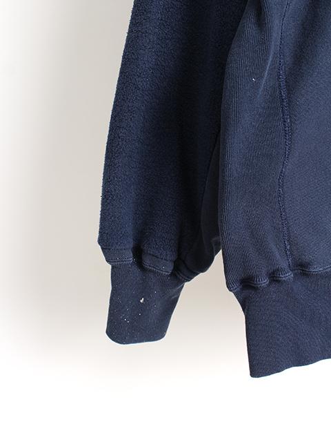 リメイクバックサイドクルースウェット袖裾ペンキ4