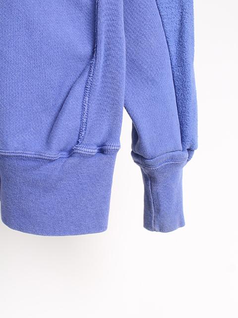リメイクバックサイドクルースウェット袖、裾