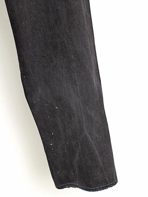 2FOR1デニムパンツブラックサイズ3A