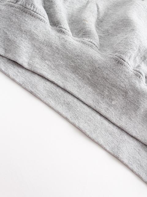 ヴェートーベンアーミースウェット裾汚れ