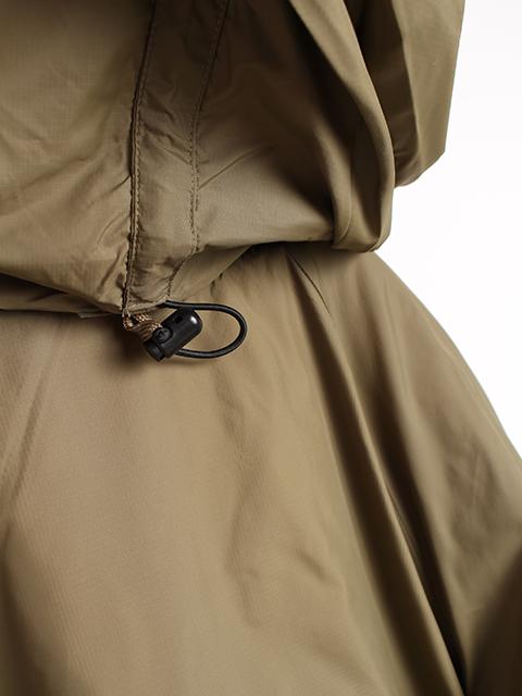 イギリス軍PCSジャケットフード裏ドローコード