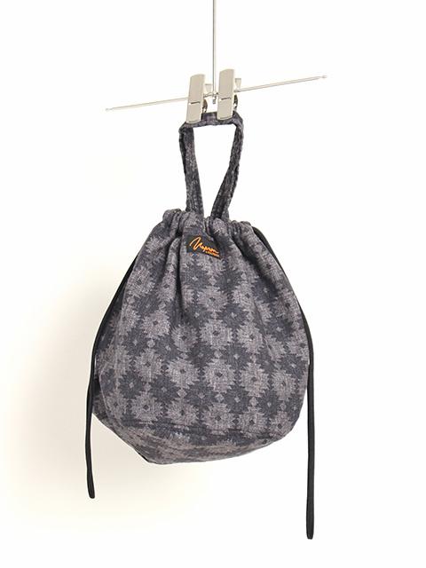 ダイヤコットンプリントペイシェントバッグ
