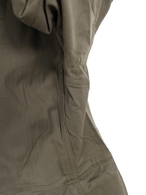 フランス軍F1ジャケットサイド縫製部分
