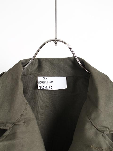 フランス軍F1ジャケットサイズタグ