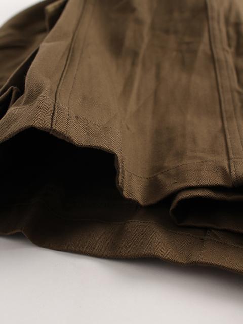 フランス軍M-47フィールドジャケット素材感アップ