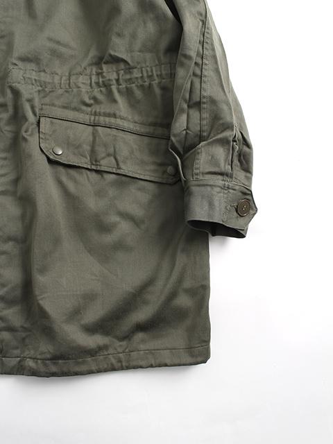 フランス軍M-64フィールドパーカ裾袖部分