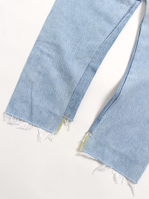 フロントローデニムサイズ2A置き後裾