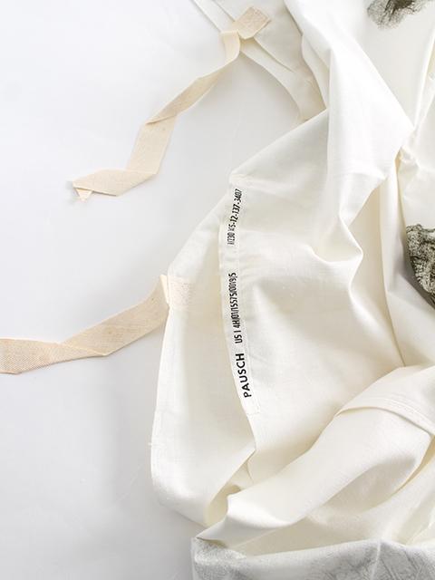 ドイツ軍スノーカモポンチョ裾部分