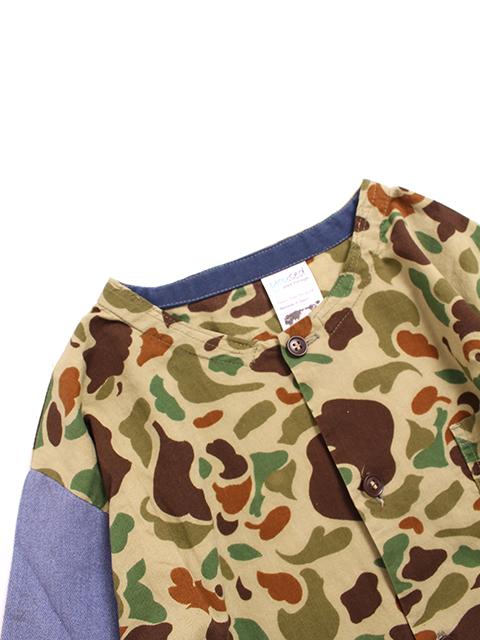 ハンティングシャツジャケットハント置きアップ