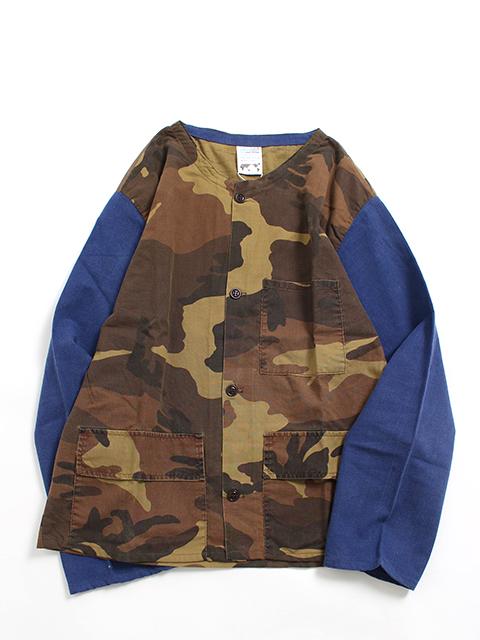 ハンティングシャツジャケットウッド置き