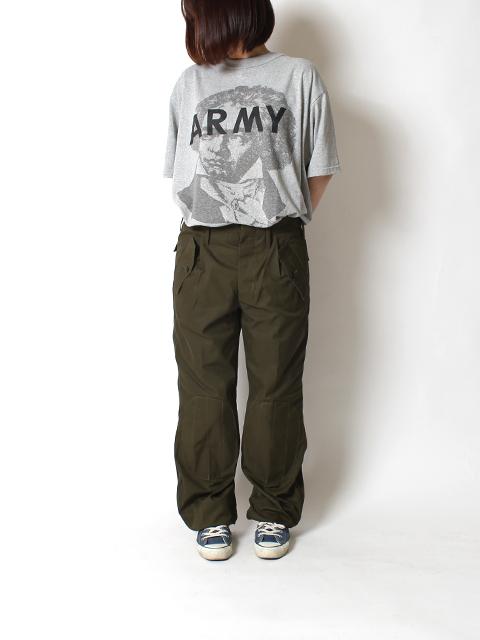 イタリア軍パラシュートパンツ着用前