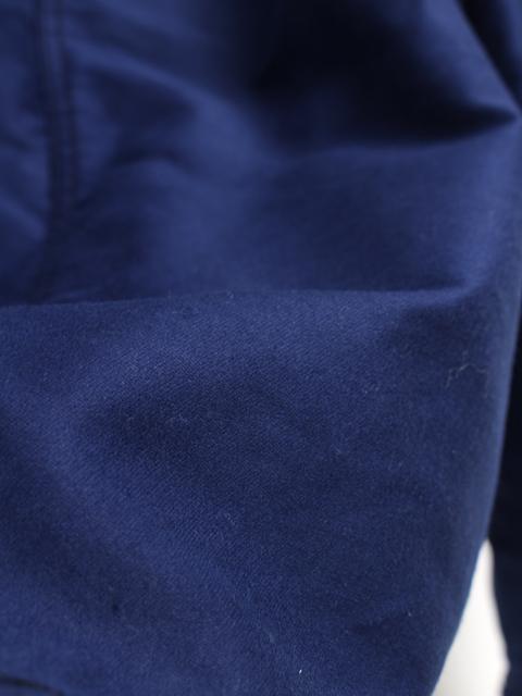 le mousquetaireフレンチモールスキンカバーオール
