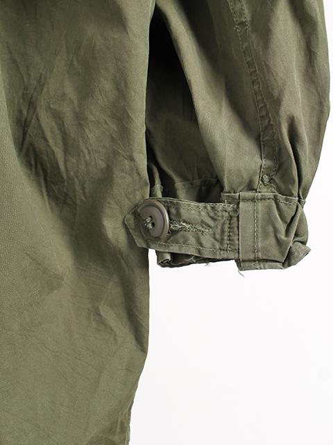 アメリカ軍M-65フィッシュテールパーカ袖、裾
