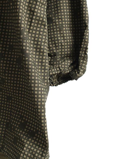 ナイトカモフィールドパーカ袖裾