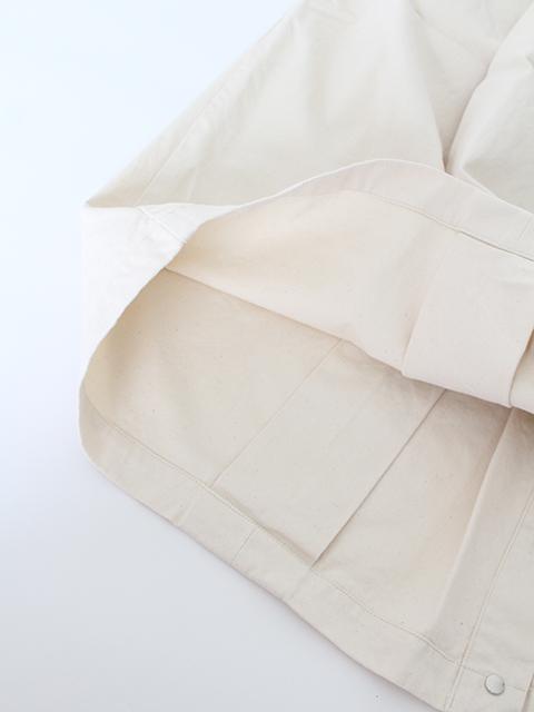 パンツスカートナプロンキナリ裾部分