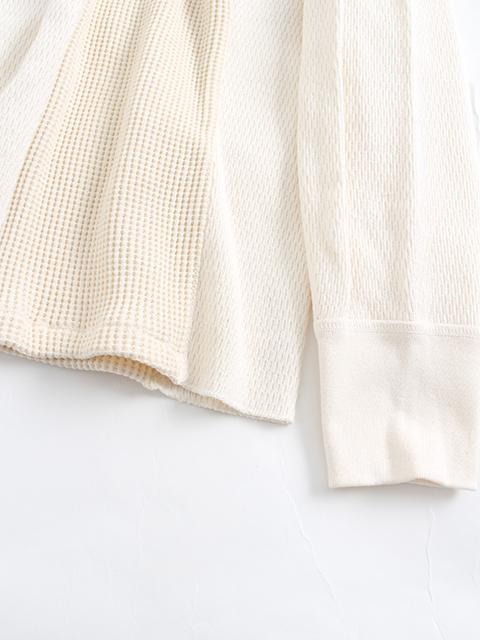 リメイクコントラクトサーマル置き袖部分