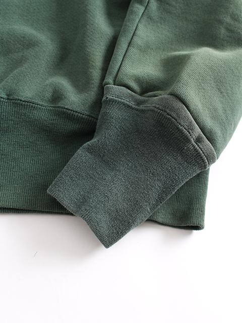 リメイクフーデッドパーカグリーンA袖、裾