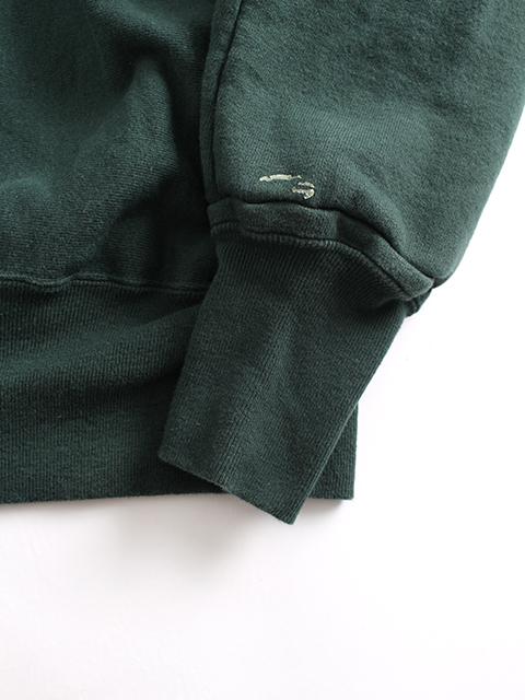 リメイクフーデッドパーカグリーンB袖裾