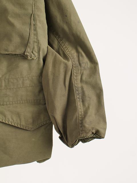 リメイクM-65ミリタリージャケットサイズ2袖裾