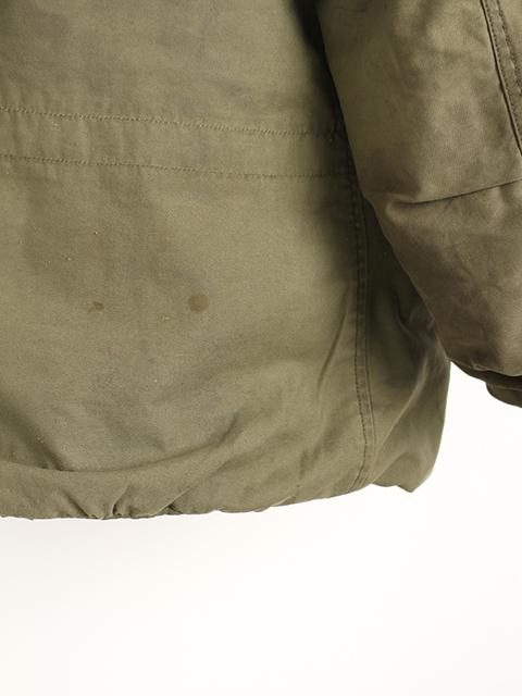 リメイクM-65ミリタリージャケットサイズ2後裾