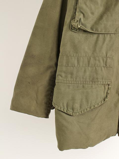 リメイクM-65ミリタリージャケットサイズ2袖裾2