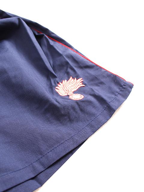 イタリアカラビニエリトレーニングショーツ置き刺繍部分