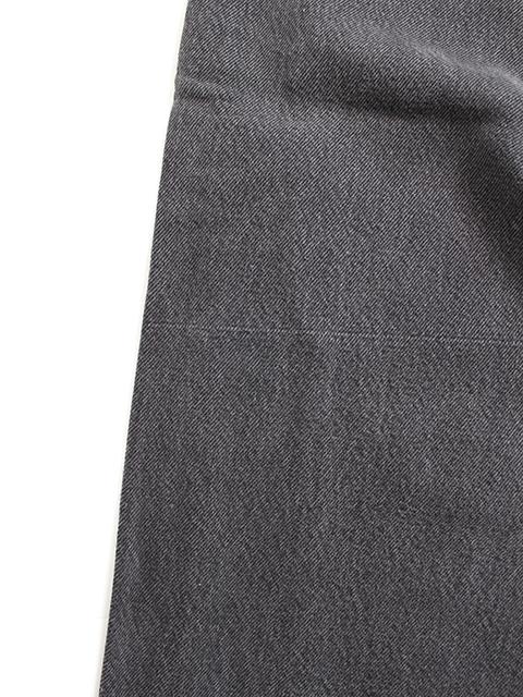 リメイクサイドラインデニムパンツタイプA裾織キズ