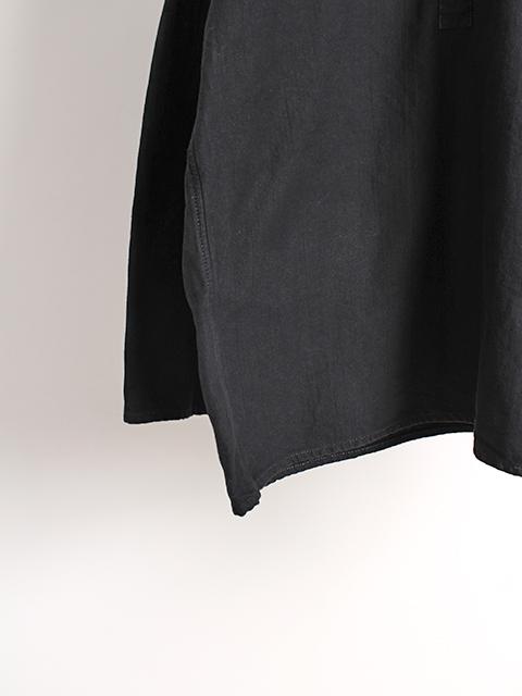 ロシア軍スリーピングシャツブラック袖裾