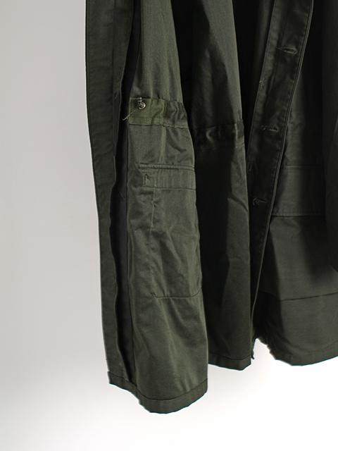 スウェーデン軍M-59ブラックグリーンドローコード
