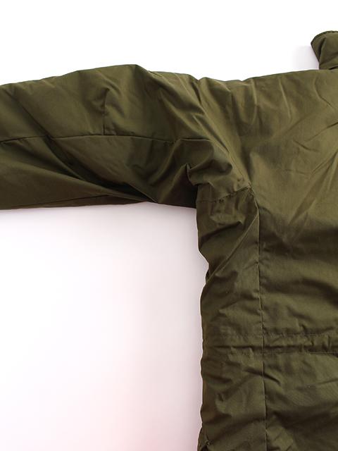スウェーデン軍M90ジャケット袖の作り