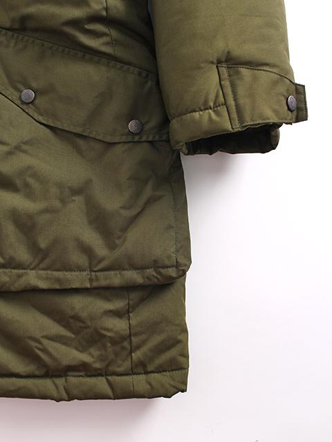 スウェーデン軍M90ジャケット袖、裾