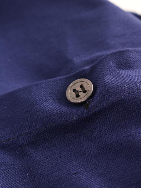 スウェーデン40年代プルオーバーシャツボタンアップ