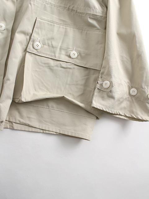 スウェーデン軍スノーカモパーカ袖、ポケット