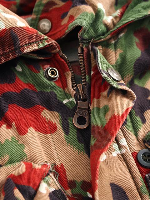 スイス軍アルペンカモマウンテンジャケットジップアップ