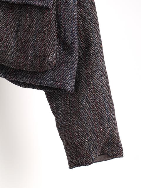 ツィードリメイクウェーディングジャケットB袖裾