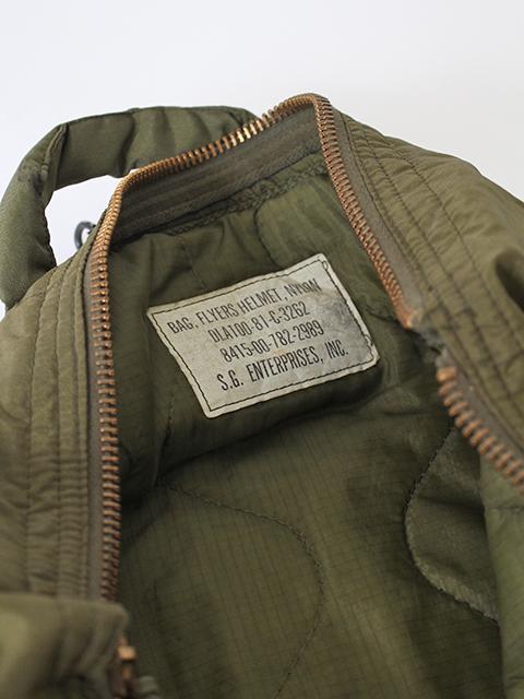 USAFヘルメットバッグタグアップ