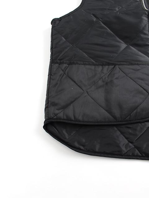 アメリカ製キルティングワークベスト裾部分