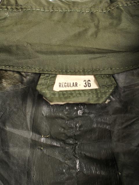 アメリカ軍ラバーコーティングレインコート36REGULAR