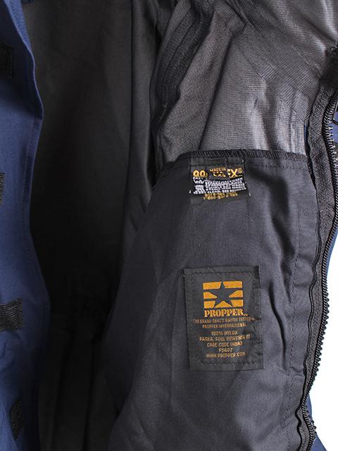 アメリカ湾岸警備隊ゴアテックス&フリースジャケット裏タグ