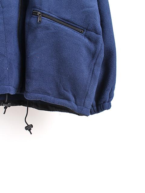 アメリカ湾岸警備隊ゴアテックス&フリースジャケットフリース袖裾
