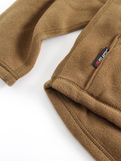 USMCポーラテックフリースプルオーバー裾