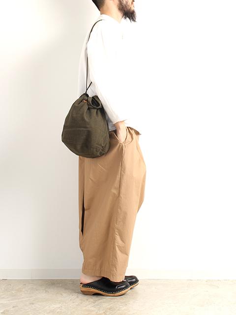 ウールナイロンペイシェントバッグ
